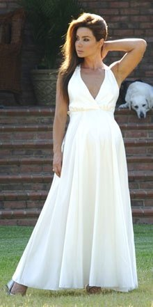 булчинска рокля за бременни