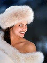 зимна булчинска рокля