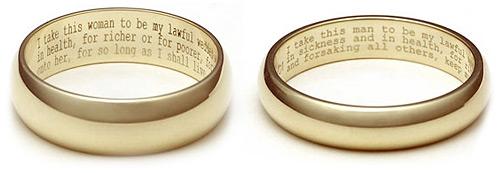 гравиране на сватбени пръстени